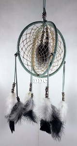 Double Ring Dream Catcher #211