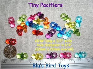 Extra Small Pacifiers (Tiny)