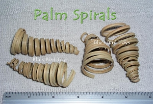 Palm Spirals - 25 pcs.