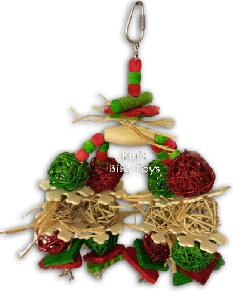 Dangling Ornaments Bird Toy