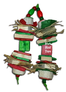 Holiday Cheers Bird Toy