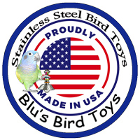 Stainless Bird Toys Made In The USA!