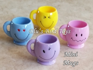 Mini Smiley Mugs - 12pc.