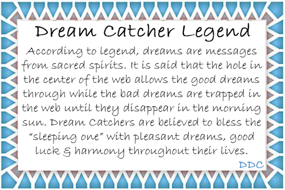 graphic about Legend of the Dreamcatcher Printable named Desert Aspiration Catchers @ Blus Fowl Toys