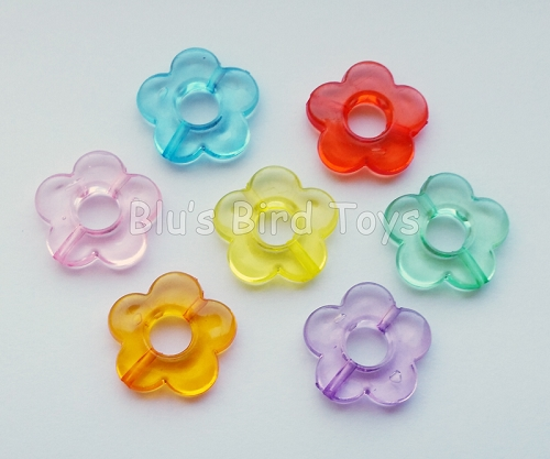 Flower Beads - Translucent
