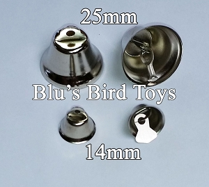 Liberty Bells - 14mm Size