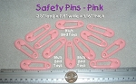 Safety Pin - Pink