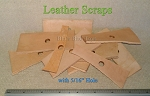 Leather Rectangle Scraps-12pc.