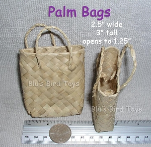 Palm Bags - 6 pc.