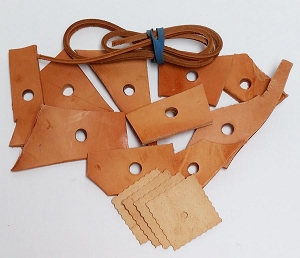 Assorted Leather -15 pc