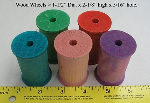 Wood Spools - Large