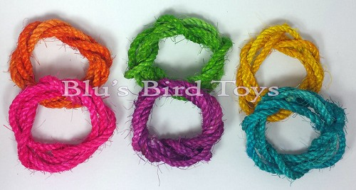 "3/16"" Colored Sisal Rope"
