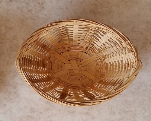 4' Wicker Basket