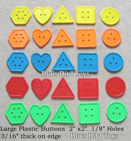 "2"" Buttons - 25 pc."