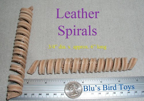 Leather Spiral