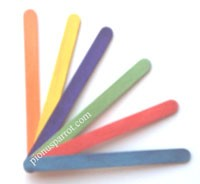 Popsicle Sticks - Regular - 100 pcs.